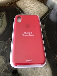 Apple Red Silicone Case for IPhone X  El Paso, 79925