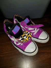 CONVERSE Limited Edition! Double Tongue Leopard