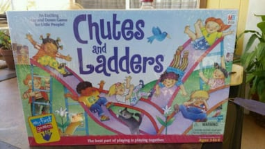 Chutes and Ladders board game