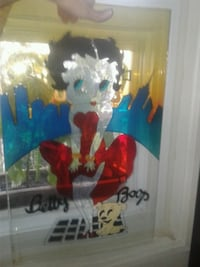 Betty Boop stained glass art  Gatineau, J8Z 1T7