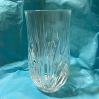 "6"" Lead Crystal Vase Beverly, 01915"
