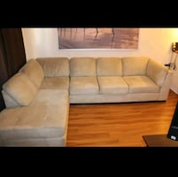Beige Sectional Sofa by Ashley Furniture