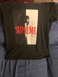 Supreme scarface split tee Large