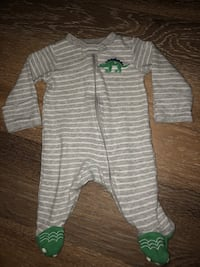 Baby Boy Footed Onesies Downey, 90241