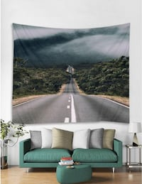 ROAD WALL HANGING TAPESTRY NEW Victoria