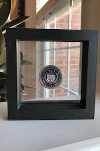 ATF Challenge Coin in display case Ashburn, 20147