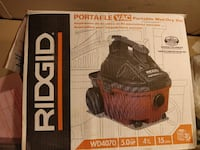 Ridgid WD4070 4 gallon 5hp portable vacuu for cars Annandale, 22003