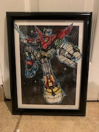 Realistic Voltron Illustration in a Frame New York, 10304