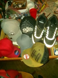5 hats NEW & And1 shoes size 9. All for 75.00 Bloomsburg, 17815
