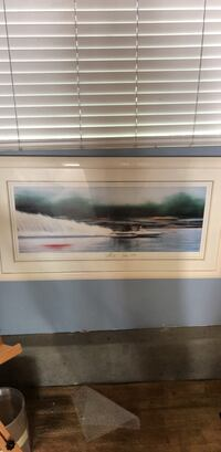 Framed Hand Painiting San Clemente, 92673
