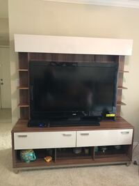 "TV stand with shelves for 75"" Tv Fairfax, 22033"