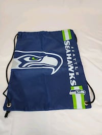 Brand New Seattle Seahawks NFL Drawstring Backpack Chesapeake
