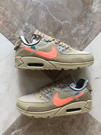 Nike Air Max Off White Desert Ore size 11 , 22102