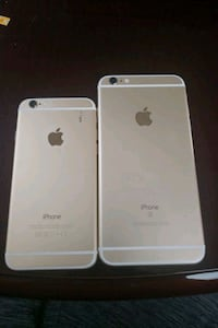 rose gold iPhone 6s with white iPhone case District Heights, 20747
