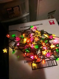 Star colorful  christmas lights  Wilkes-Barre, 18706