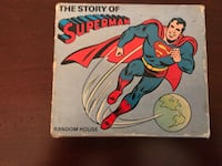 THE STORY OF SUPERMAN BOOK