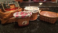 Longaberger baskets each Bel Air, 21015