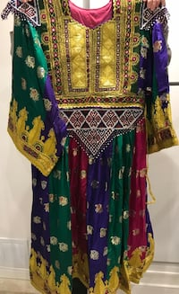 Traditional afghani clothing for weeding and engagement parties Mississauga, L5M