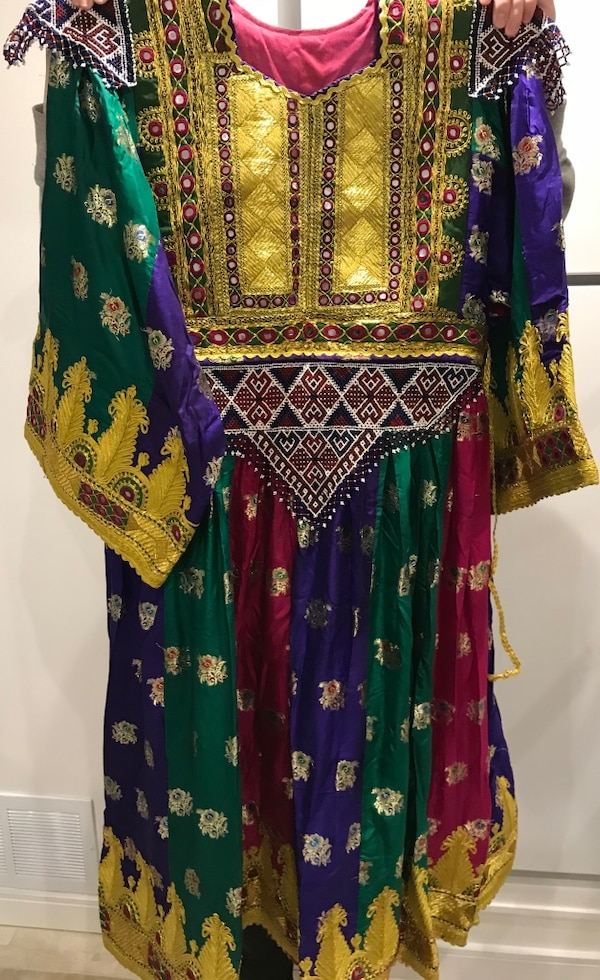 Traditional afghani clothing for weeding and engagement parties 77022ef7-ce56-4c9a-8e90-d8715a0940f0