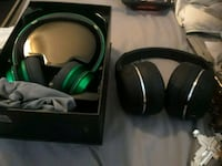 black and green wireless headphones Columbus, 43206