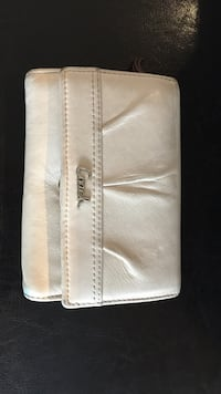 White Coach leather wallet Vancouver