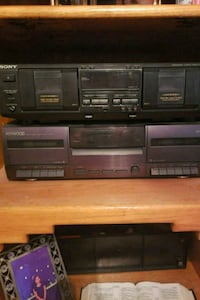 Double Cassette Player/Recorder SONY.../ KENWOOD Albuquerque, 87120
