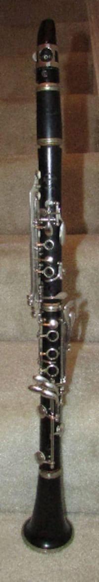 Vintage Normandy Wood Clarinet Made in France Nice Condition by Leblan