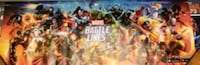Marvel Battle Lines poster from the 2018 NYCC 70 km
