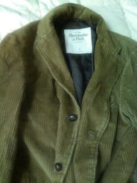 brown Abercrombie and Fitch trench coat Philadelphia, 19132