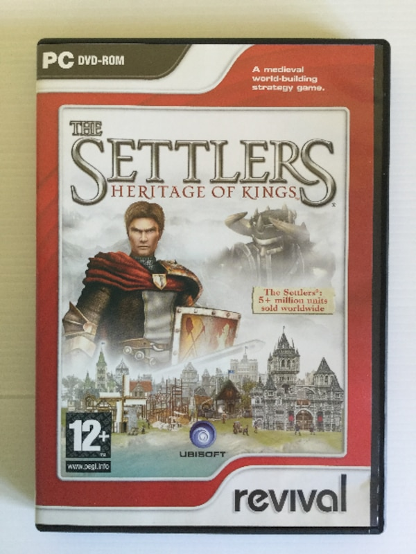 Juego PC The Settlers Heritage of Kings Inglés revival Ubisoft