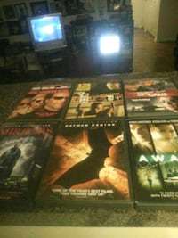 Assorted dvd movies 41 km
