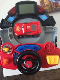 Toddler's red and black plastic toy 3119 km