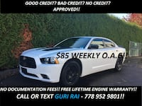 2014 Dodge Charger SXT + NO ACCIDENTS + FREE LIFETIME ENGINE WARRANTY! - $20698 (NO/BAD CREDIT APPROVED!!)  i Surrey