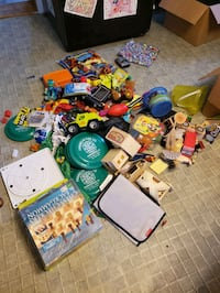 3 boxes of Toys and miscellaneous only asking $5 for gas Chambersburg