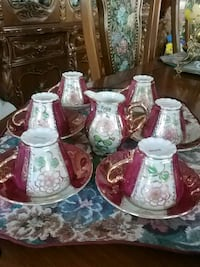 Beautiful vintage coffee set for 6 Laval, H7G 2W7