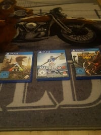 drei Sony PS4 Game Cases 6848 km