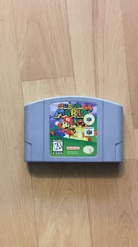 Super Mario 64 Nintendo 64 game cartridge Montréal, H1Z 2Z1