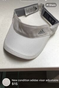 New condition adidas visor adjustable London, N5W 1E8
