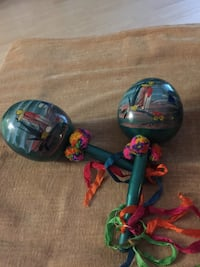 Mexican maracas with mesh bag Burnaby, V5C 3T8