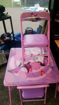 Minnie mouse table and chairs  Ramsey, 55303