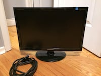 """25""""  Samsung computer monitor, comes with whiers 503 km"""