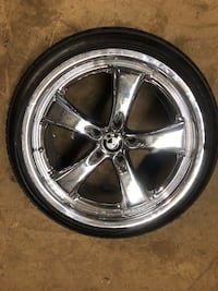 19 inch Tsw Montage staggered wheels Media, 19063