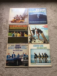 Lot of beach boys albums.. Woodstock, N4S 5X3