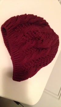 red cable knit cap Halifax, B3T 0C9