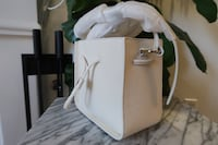 New! 3.1 Phillip Lim Soleil Mini Bucket Drawstring Off White Los Angeles