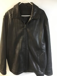 Dockers men's black leather jacket Burnaby, V5G 3X4