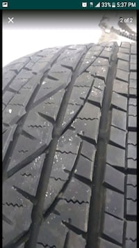1 New Tire Firestone p245/65R17 Herndon