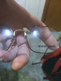 Gold frame authentic armani eye glasses  Louisville, 40219