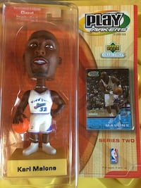 NBA Play Makers Upper Deck Collectibles Series 2 Carl Malone bubblehead Fairfield, 94533