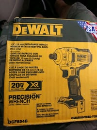 Dewalt. 1/2 Mid Range Impact Wrench with Detent Pi Pennsylvania Turnpike